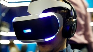 PS VR распаковка и обзор в Virtuality Club