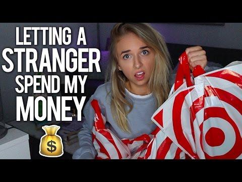 LETTING A STRANGER SPEND MY MONEY