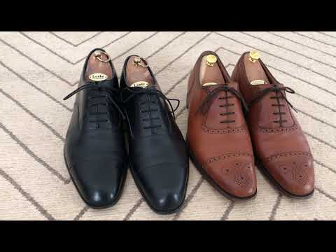 46e3306c Loake 1880 brogue buckingham unboxing on feet business shoes 2016 hd