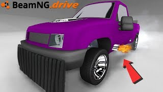 BeamNG Drive with the thanos car