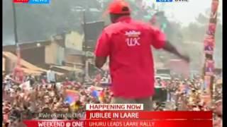Jubilee brigade in Laare : The president's address