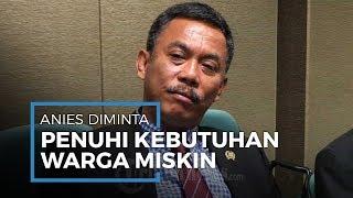 Ketua DPRD Minta Gubernur Anies Penuhi Kebutuhan Warga Miskin jika Lockdown Benar-benar Diterapkan