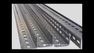 Instalação para suportes para calhas porta-cabos