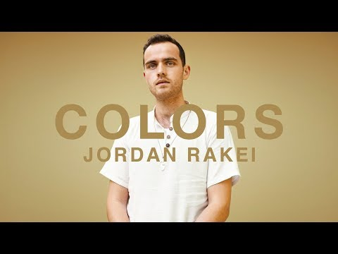Jordan Rakei - Wildfire | A COLORS SHOW online metal music video by JORDAN RAKEI