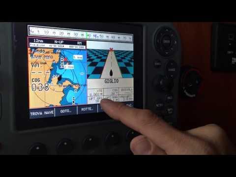 Tutorial: come impostare la rotta sul GPS cartografico