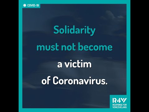Solidarity must not become a victim of COVID-19