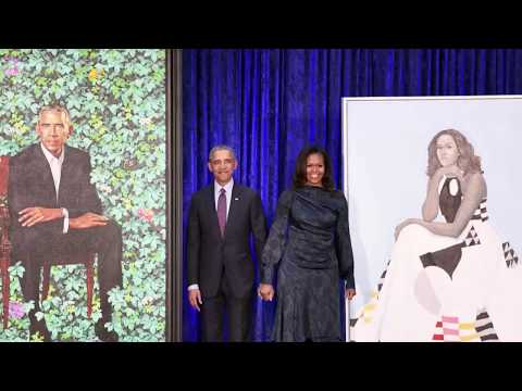 The Official Smithsonian Portraits Of The Obamas released