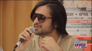 Atif Aslam singing without music | Tera hone laga hoon
