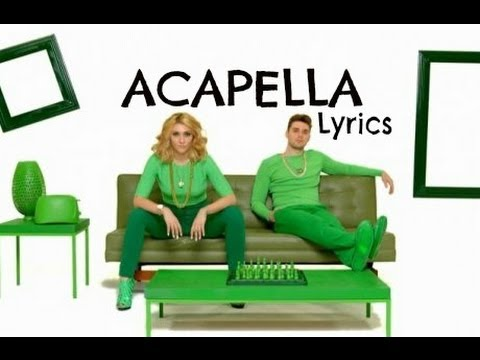 Karmin - Acapella [Audio + Lyrics (In description