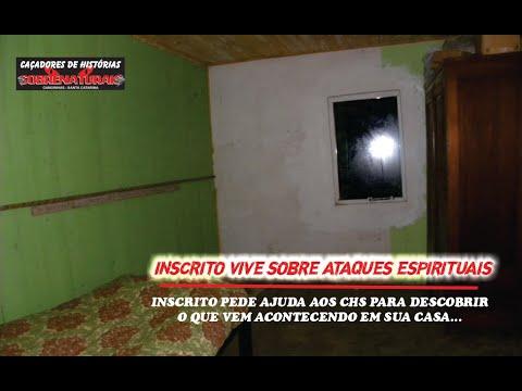 SOCORRO - Inscrito sofre ataque espiritual e pede ajuda aos CHS #cacadoresdehistoriassobrenaturais