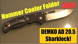 Kein Cold Steel! Demko AD 20.5 Hammergeiler Sharklock!