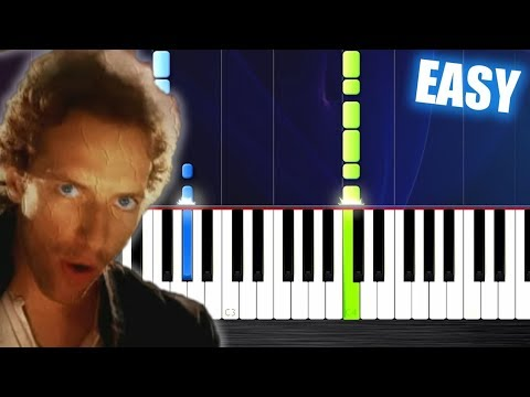 Coldplay - Viva La Vida - EASY Piano Tutorial By PlutaX Mp3