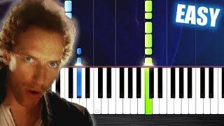 Coldplay - Viva La Vida - EASY Piano Tutorial by PlutaX