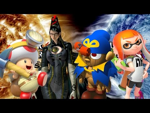 Top 10 Characters We Want in Super Smash Bros