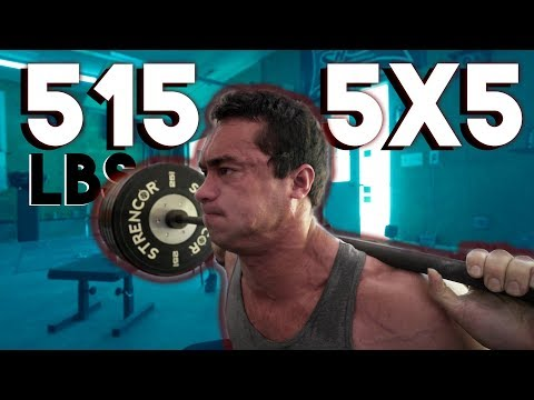Clarence Kennedy Squats More Than You