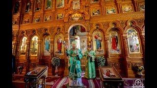 Литургия в Троицком храме г. Бровары Бориспольской епархии