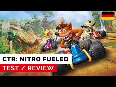 Crash Team Racing: Nitro Fueled - Test: Besser als Mario Kart 8 Deluxe? (DE)
