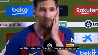 At This Rate, Well Lose Against Napoli - Messi REACTS To Real Madrid Winning La Liga!