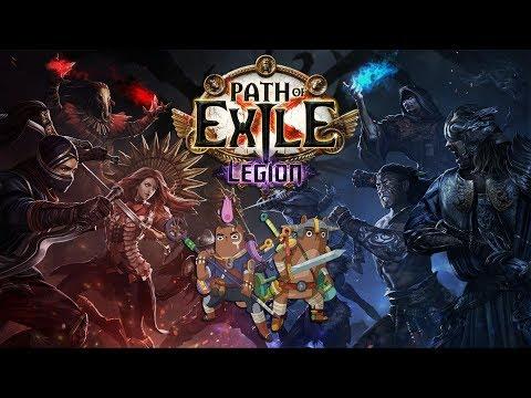 Path of Exile: Legion - ⚔️Cesta Atlasem/Bitva armád⚔️