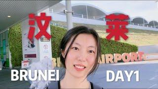文莱/汶莱BRUNEI DAY1-吉隆坡转机Transfer /落地签Visa on Arrival/民宿LZ lodgings/多少钱/加东夜市 Gadong night market