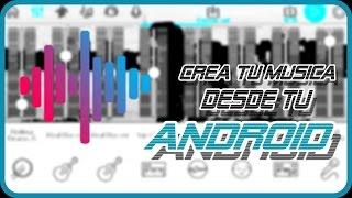 Como crear música en android//music maker jam//