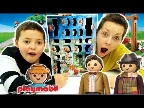 Il Calendario Dell'Avvento Playmobil: Giochi Ad Ogni Casella - Video VikDag e BigMamma