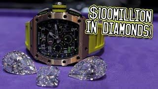 $100million in diamonds!