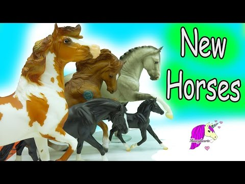 New Breyer Horses - Horse Collection Haul Video - Honeyheartsc