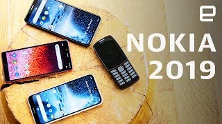 Nokia 210, Nokia 1 Plus, Nokia 3.2 and Nokia 4.2 Hands On at MWC 2019