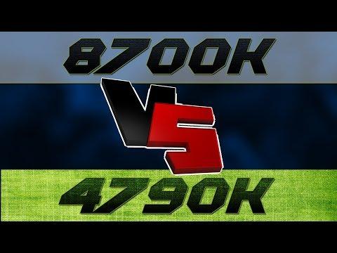 i7-8700K vs i7-4770K - Gaming Comparison - смотреть онлайн на Hah Life