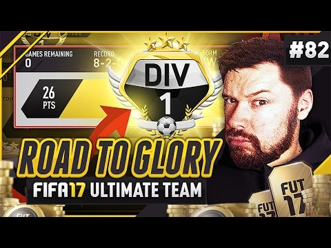 WE REACH DIVISION 1!- #FIFA17 Road to Glory! #82
