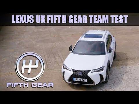 Lexus UX Team Test   Fifth Gear