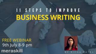Introduction -11 Steps to Improve Business Writing   Effective Business Communication
