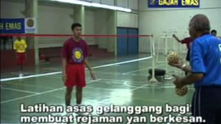 SEPAKTAKRAW | Asas Sepaktakraw | Gajah Emas | Malaysia - Fundamentos do Sepaktakraw