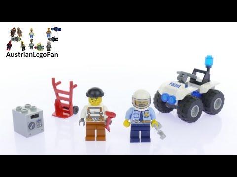 Vidéo LEGO City 60135 : L'arrestation en tout-terrain