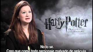 Entrevista Bonnie Wright / Ginny Weasley / Jueves 25/11/10