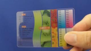 透明カード 説明動画