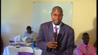 kolokoshani grade12 2008 farewell with Rev T.S Tshabuse