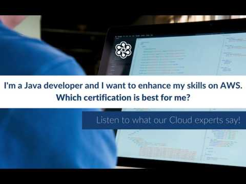 Which AWS certification is best for a Java Developer? - YouTube