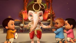 Ganpati Bappa Aa Rahe Hai Kids Song | Hindi Rhymes for