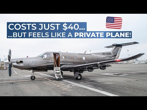 TRIPREPORT – PRIVATE JET EXPERIENCE! | Boutique Air | Pilatus PC-12 | Oakland, CA – Merced, CA