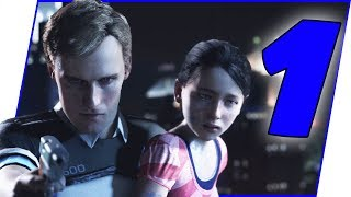 This Game Is AMAZING! I'm HOOKED! - Detroit: Become Human Walkthrough Ep.1