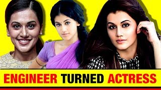Engineer से Star Actress | Taapsee Pannu Biography in Hindi | Bollywood & Tollywood | Life Story - Download this Video in MP3, M4A, WEBM, MP4, 3GP