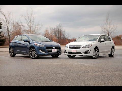 2016 Hyundai Elantra vs 2015 Subaru Impreza