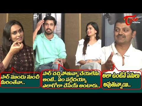 Anchor and Raj Tarun funny Satires on Director Vijay | Power Play Team Interview | TeluguOne Cinema