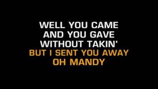 Barry Manilow Mandy Karaoke