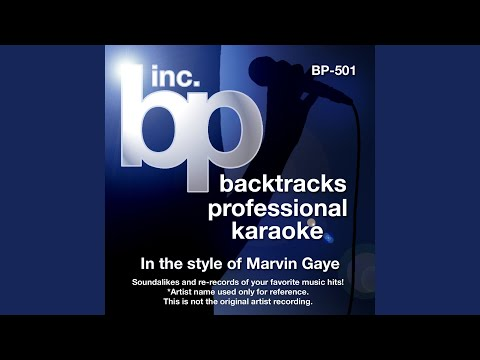 Ain't Nothin' Like The Real Thing (Instrumental Track Without Background Vocal) (Karaoke in the...