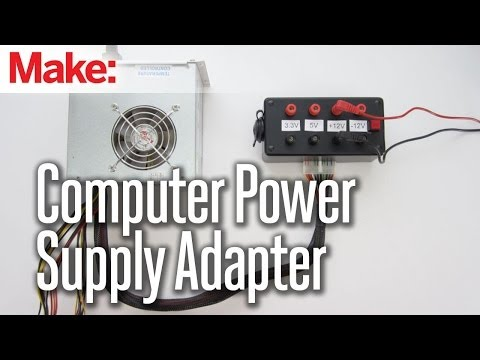 Computer Power Supply Adapter