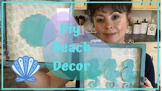 Dollar Tree Beach Decor Diy | Summer Decor