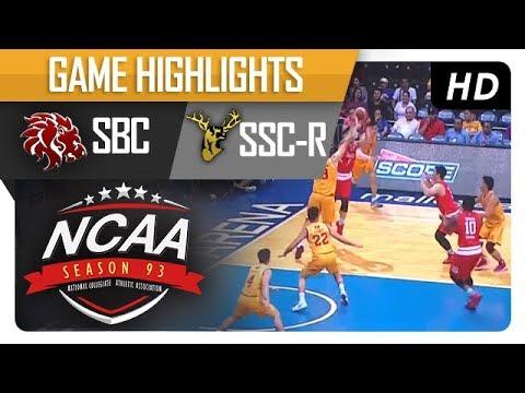 SBC vs SSC-R | NCAA 93 | MB | Semi- Finals Game Highlights | November 07, 2017